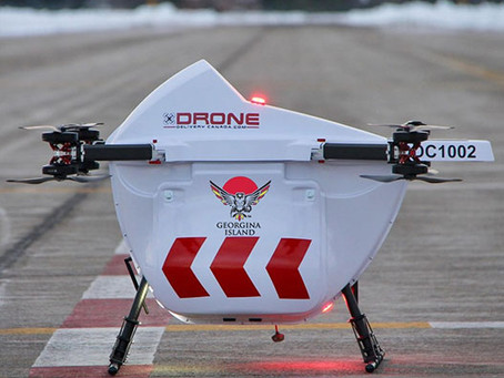 DDC deploys delivery drones to serve Georgina Island First Nation