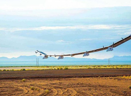 Watch Video: Alphabet and SoftBank's solar-powered drone achieves first LTE connection