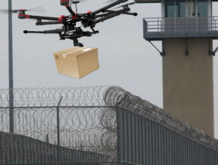 DOJ releases report on ways to protect U.S. prisons from growing drone threat