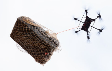 """Meet a drone capable of lifting objects """"weighing up to 1,000 lbs"""""""