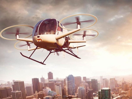 """There is research and then there is RESEARCH: """"The High-Flying Industry: Urban Air Mobility Takes Of"""