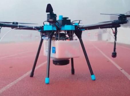 COVID-19: Florida company adapts drones to sanitise stadiums