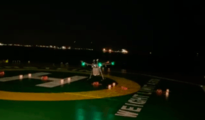 "Watch Video: F-drones ""the world's first commercial night delivery"" in Singapore"