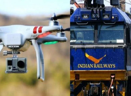 """Indian Railways to use """"eye in the sky drones"""" to carry out surveillance of Mumbai station"""