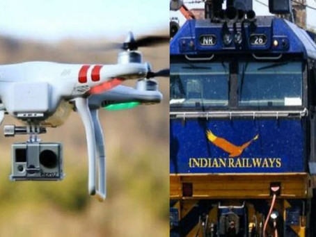 "Indian Railways to use ""eye in the sky drones"" to carry out surveillance of Mumbai station"