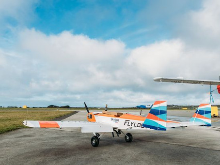 UK's inaugural drone freight flight takes to the sky between Land's End and Isles of Scilly