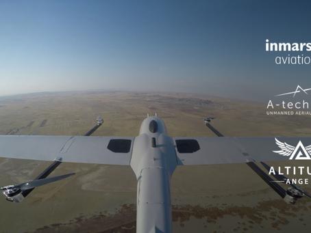 Pop-up UTM platform demonstrated by Altitude Angel, Inmarsat and A-techSYN team