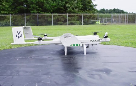 """Volansi launches commercial drone delivery program to fly """"cold chain medicines in U.S. rural North"""