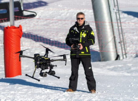 Drones for Good: French ski resort deploys thermal drones to assist rescue workers