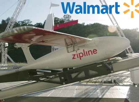Zipline and Walmart to launch drone deliveries of health and wellness products in Arkansas, U.S.