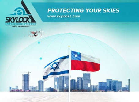 Chile selects Skylock counter drone solution to locate, mitigate and capture unauthorised drones
