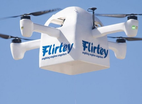 Flirtey granted new patent for crucial drone delivery safety