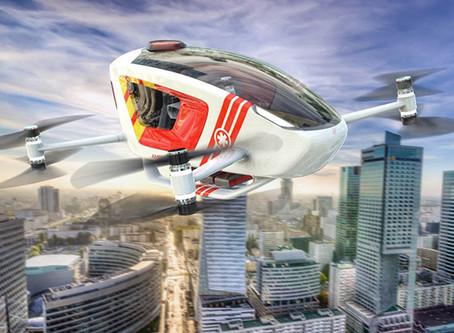 EHang joins ICAO sponsored flying ambulance programme Ambular