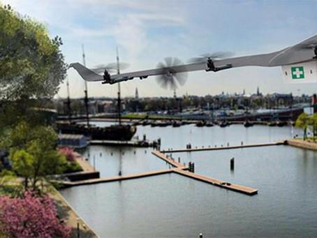 Amsterdam city launch urban drone test centre