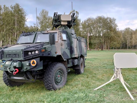 Polish military takes delivery of Poprad static and mobile counter drone equipment