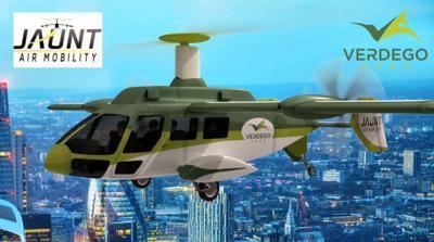 Jaunt to partner with VerdeGo Aero on hybrid-electric aircraft