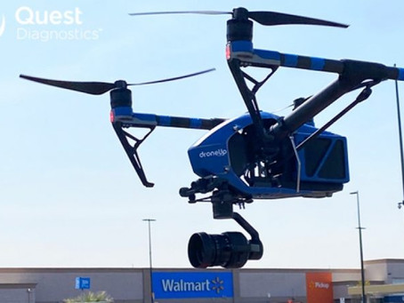 U.S. Cheektowaga Walmart latest to deploy drones to deliver Covid-19 tests