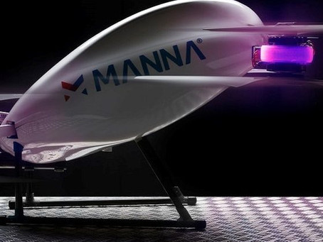 Ireland: Manna Drone Delivery to air-drop Christmas lights during lockdown