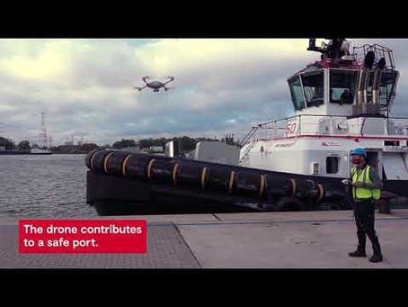 Antwerp Port and EMSA partner for drone deployment to enforce and control sensitive and complex area