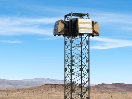 Watch video: UK Blighter's new drone detection system