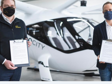 Volocopter to provide eVTOL platforms to ADAC Luftrettung