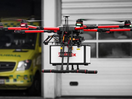 Falk turns to manned drones to speed up paramedics reaching emergencies