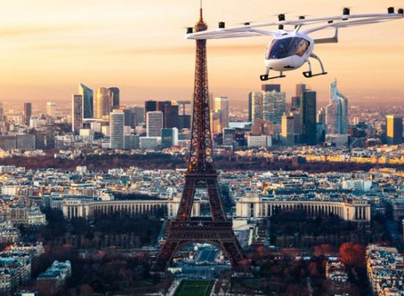 Volocopter to test UAM operations at Paris Pontoise airfield