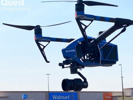 Watch Video: Walmart partners to deploy drones for delivery of Covid-19 test kits to U.S. El Paso