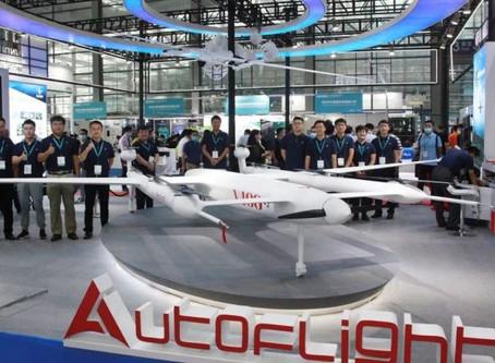Autoflight displays new V400 Xintianweng with range of 1,000 km at Shenzhen International UAV Expo