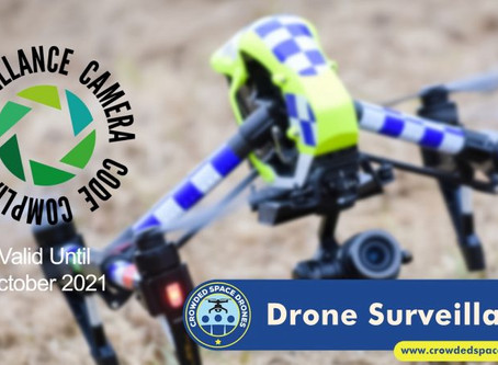 UK Surveillance Camera Commissioner awards Crowded Space Drones with...
