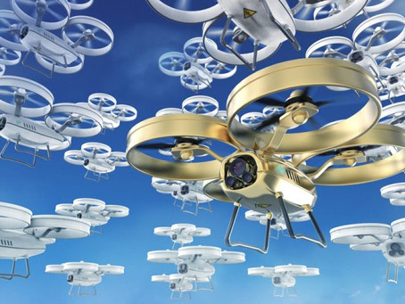 """""""Civil UAS market will grow from USD5 billion in 2020 to USD18.4 billion in 2029"""" – Teal"""
