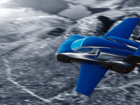 """Latest flying car concept: Welcome the Firenze Lanciare """"powered by jet engines"""""""