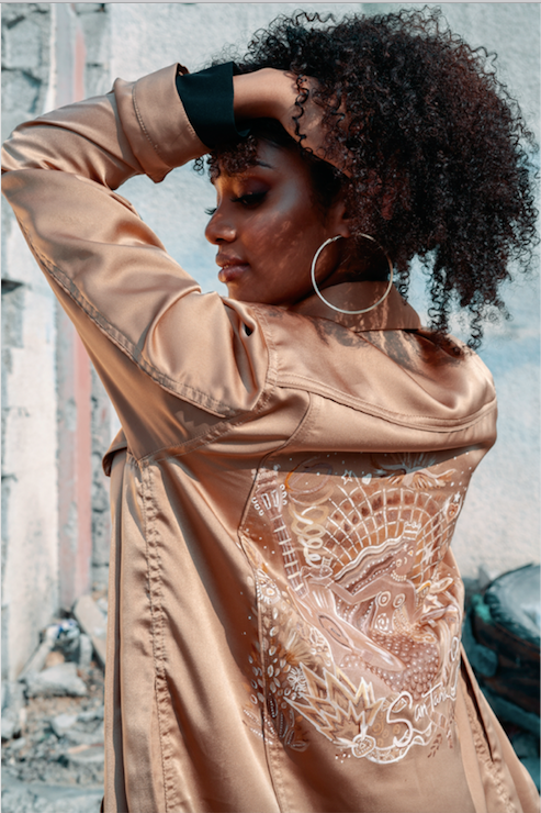 Santana Denim Design Jacket