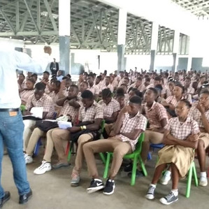Training with Secondary Students