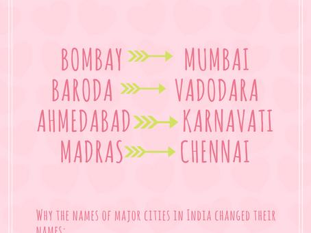 WHY BOMBAY BECAME MUMBAI