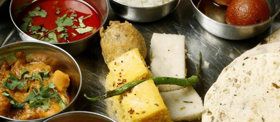 GUJARATI FOOD: DAAL, BHAAT AND RAITU