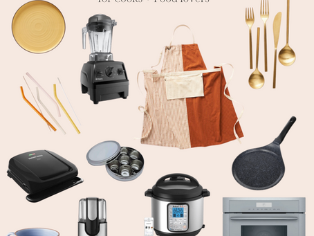 Gift Guide: for Cooks and Food Lovers