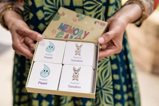 Gujarati and Hindi Memory Games for sale