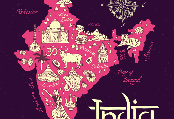 FOR KIDS: MAP OF GUJARAT