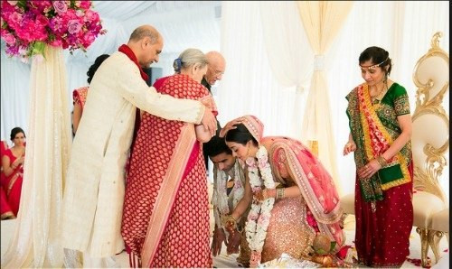 FIVE REASONS WHY GUJARATIS BOW AND TOUCH SOMEONE'S FEET