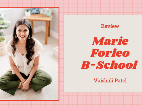 An Honest Experience with Marie Forleo's B-School