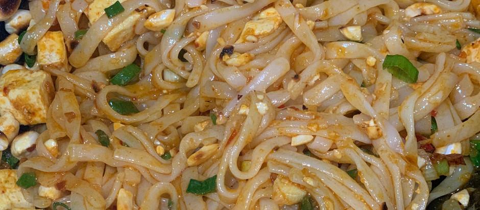 Easy Peasy Pad Thai - Vegetarian, Gluten Free & Vegan