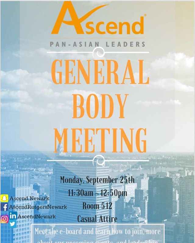 Our first general body meeting is tomorrow at 11_30 am during free period! Learn about what events a