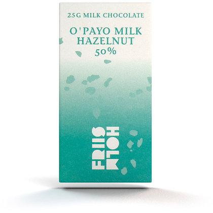 O'Payo Milk Hazelnut 50% 25 g