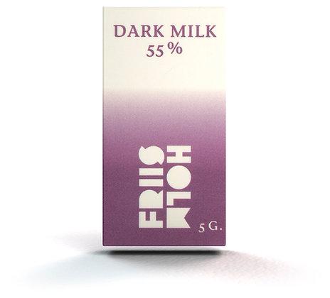 10 x Dark Milk 55% 5 g