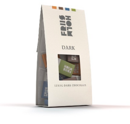 Bag of Dark Chocolate 12 x 5 g