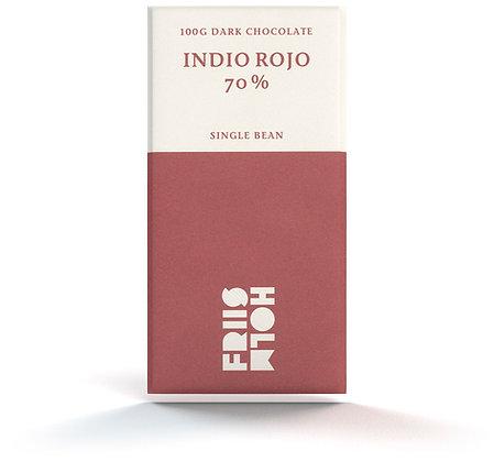 Indio Rojo 70% 100 g