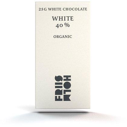 White 40% 25 g