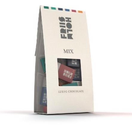 Bag of Mix Chocolate 12 x 5 g