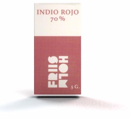 10 x Indio Rojo 70% 5 g